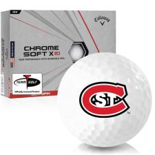 Callaway Golf Chrome Soft X LS St. Cloud State Huskies Golf Balls