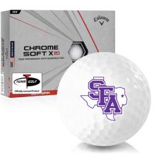 Callaway Golf Chrome Soft X LS Stephen F. Austin Lumberjacks Golf Balls