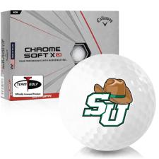 Callaway Golf Chrome Soft X LS Stetson Hatters Golf Balls