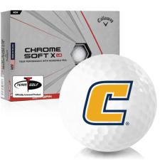Callaway Golf Chrome Soft X LS Tennessee Chattanooga Mocs Golf Balls
