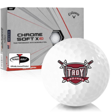 Callaway Golf Chrome Soft X LS Troy Trojans Golf Balls