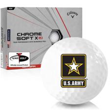 Callaway Golf Chrome Soft X LS US Army Golf Balls