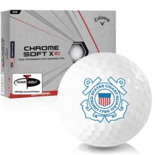 Callaway Golf Chrome Soft X LS US Coast Guard Golf Balls