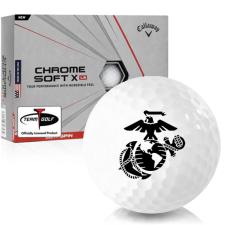 Callaway Golf Chrome Soft X LS US Marine Corps Golf Balls