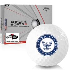 Callaway Golf Chrome Soft X LS US Navy Golf Balls
