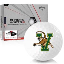 Callaway Golf Chrome Soft X LS Vermont Catamounts Golf Balls