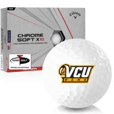 Callaway Golf Chrome Soft X LS Virginia Commonwealth Rams Golf Balls