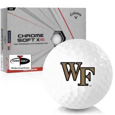 Callaway Golf Chrome Soft X LS Wake Forest Demon Deacons Golf Balls