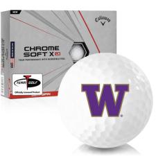 Callaway Golf Chrome Soft X LS Washington Huskies Golf Balls