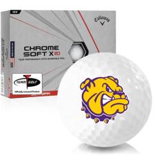 Callaway Golf Chrome Soft X LS Western Illinois Leathernecks Golf Balls