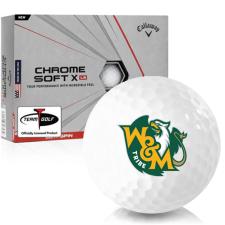 Callaway Golf Chrome Soft X LS William & Mary Tribe Golf Balls