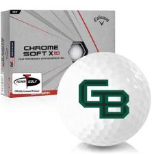 Callaway Golf Chrome Soft X LS Wisconsin Green Bay Phoenix Golf Balls