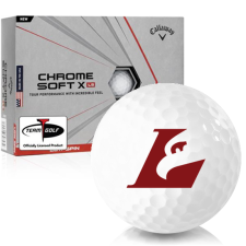 Callaway Golf Chrome Soft X LS Wisconsin La Crosse Eagles Golf Balls