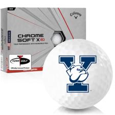Callaway Golf Chrome Soft X LS Yale Bulldogs Golf Balls