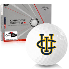 Callaway Golf Chrome Soft X LS Triple Track Cal Irvine Anteaters Golf Balls