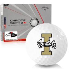 Callaway Golf Chrome Soft X LS Triple Track Idaho Vandals Golf Balls