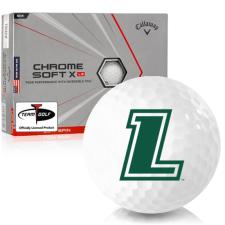 Callaway Golf Chrome Soft X LS Triple Track Loyola Maryland Greyhounds Golf Balls