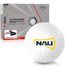 Callaway Golf Chrome Soft X LS Triple Track Northern Arizona Lumberjacks Golf Balls