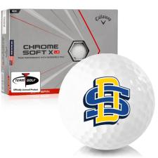 Callaway Golf Chrome Soft X LS Triple Track South Dakota State Golf Balls
