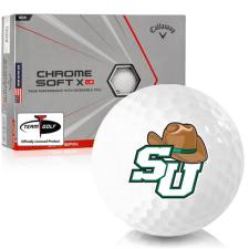 Callaway Golf Chrome Soft X LS Triple Track Stetson Hatters Golf Balls
