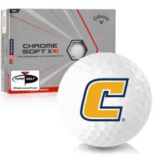 Callaway Golf Chrome Soft X LS Triple Track Tennessee Chattanooga Mocs Golf Balls