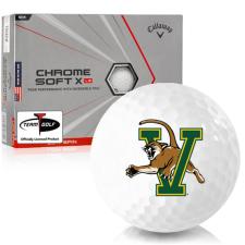 Callaway Golf Chrome Soft X LS Triple Track Vermont Catamounts Golf Balls
