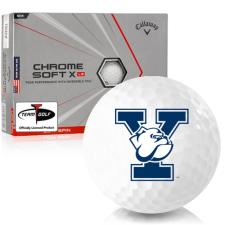 Callaway Golf Chrome Soft X LS Triple Track Yale Bulldogs Golf Balls