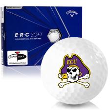 Callaway Golf ERC Soft Triple Track East Carolina Pirates Golf Balls