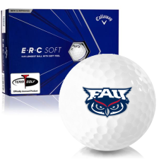 Callaway Golf ERC Soft Triple Track Florida Atlantic Owls Golf Balls