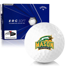 Callaway Golf ERC Soft Triple Track George Mason Patriots Golf Balls