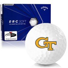 Callaway Golf ERC Soft Triple Track Georgia Tech Golf Balls