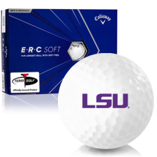 Callaway Golf ERC Soft Triple Track LSU Tigers Golf Balls