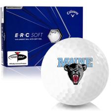 Callaway Golf ERC Soft Triple Track Maine Black Bears Golf Balls