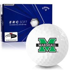 Callaway Golf ERC Soft Triple Track Marshall Thundering Herd Golf Balls