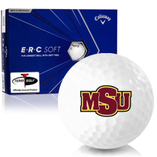Callaway Golf ERC Soft Triple Track Midwestern State Mustangs Golf Balls