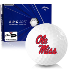 Callaway Golf ERC Soft Triple Track Ole Miss Rebels Golf Balls