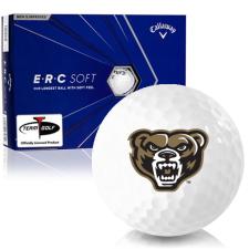 Callaway Golf ERC Soft Triple Track Oakland Golden Grizzlies Golf Balls