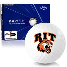 Callaway Golf ERC Soft Triple Track RIT - Rochester Institute of Technology Tigers Golf Balls
