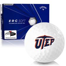 Callaway Golf ERC Soft Triple Track Texas El Paso Miners Golf Balls