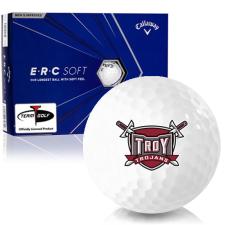 Callaway Golf ERC Soft Triple Track Troy Trojans Golf Balls