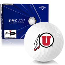 Callaway Golf ERC Soft Triple Track Utah Utes Golf Balls