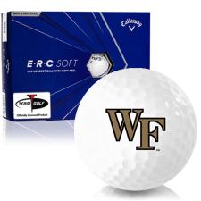Callaway Golf ERC Soft Triple Track Wake Forest Demon Deacons Golf Balls