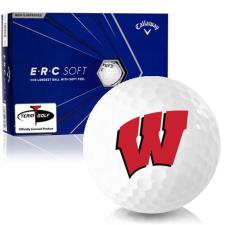 Callaway Golf ERC Soft Triple Track Wisconsin Badgers Golf Balls