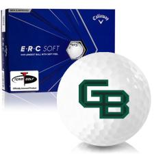 Callaway Golf ERC Soft Triple Track Wisconsin Green Bay Phoenix Golf Balls