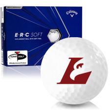 Callaway Golf ERC Soft Triple Track Wisconsin La Crosse Eagles Golf Balls