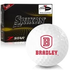 Srixon Z-Star 7 Bradley Braves Golf Balls