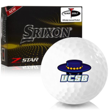 Srixon Z-Star 7 Cal Santa Barbara Gauchos Golf Balls