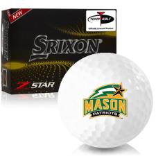 Srixon Z-Star 7 George Mason Patriots Golf Balls