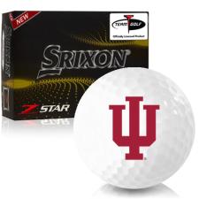 Srixon Z-Star 7 Indiana Hoosiers Golf Balls