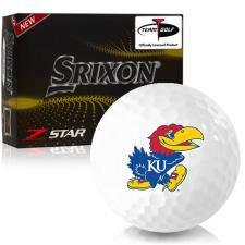 Srixon Z-Star 7 Kansas Jayhawks Golf Balls